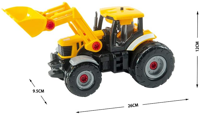 STEM Toys - Take Apart Assemble Construction Excavator for Kids
