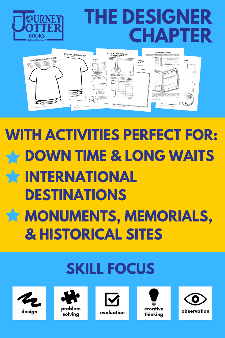 Learn more about the activities included in the Journey Jotter Books Designer Chapter!