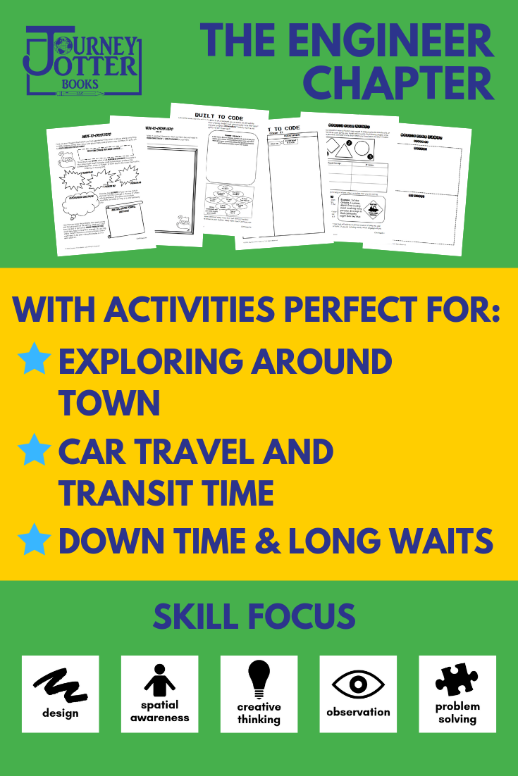Learn more about the activities included in the Journey Jotter Books Engineer Chapter!