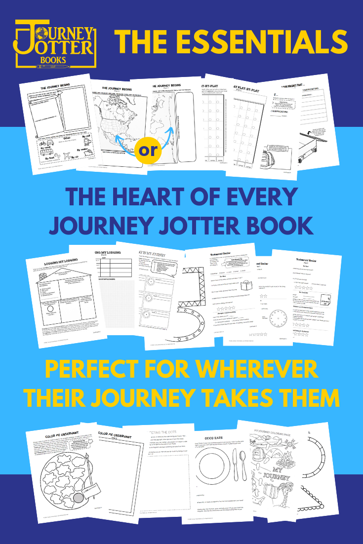 Discover the activities in the Essentials Chapter: the heart of every Journey Jotter Book!