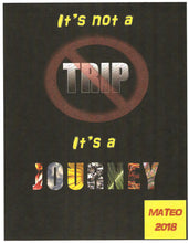 Cover Design: It's Not a Trip, It's a Journey