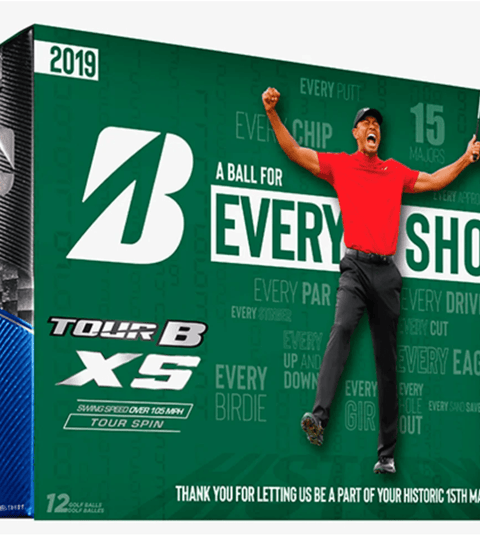 Bridgestone to release commemorative golf balls celebrating Tiger Woods' win at The Masters