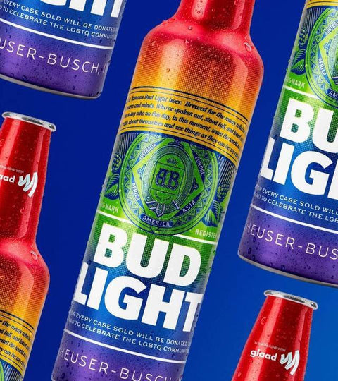 Bud Light unveiling rainbow bottle to support WorldPride