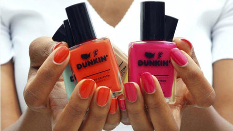 Dunkin' launched a limited-edition nail polish line