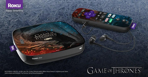 Giveaway: Limited Edition Game of Thrones Roku Ultra