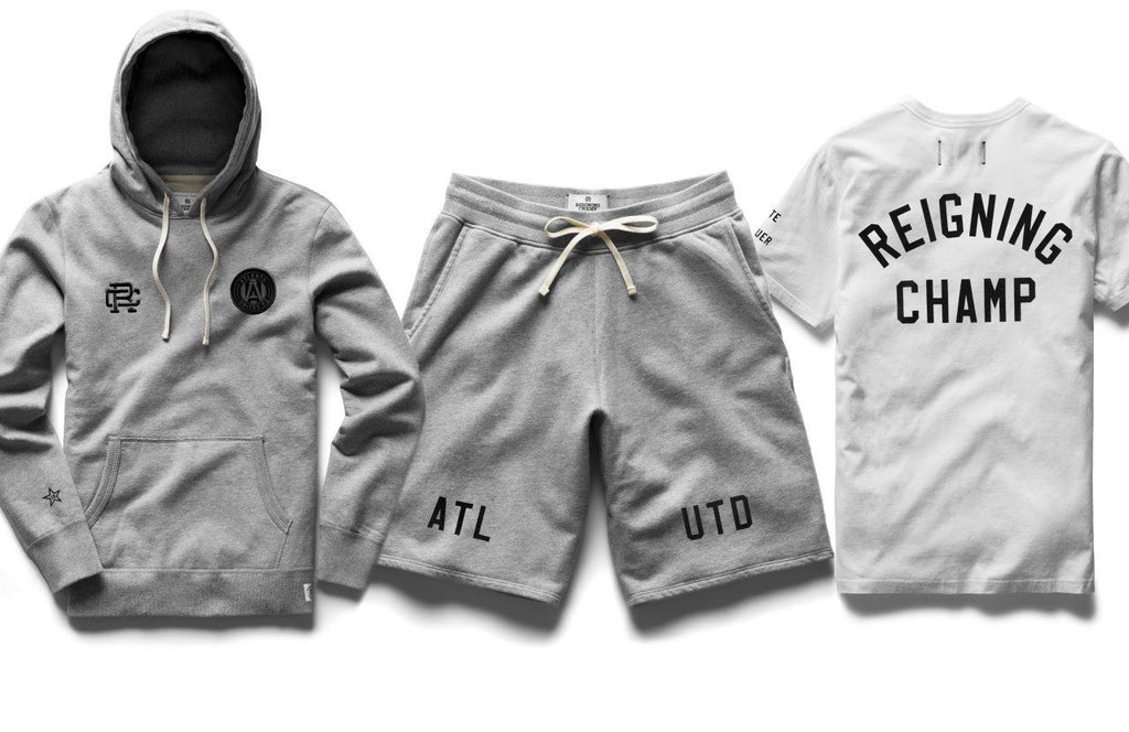 Reigning Champ Teams With Atlanta United Soccer Team for Limited-Edition Capsule