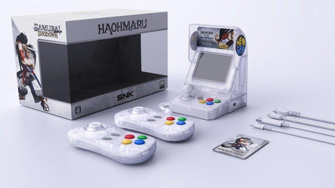 SNKNeoGeoSamurai ShodownSamurai SpiritsJapan SNK Releasing Transparent Neo Geo Mini To Celebrate The Samurai Shodown Series
