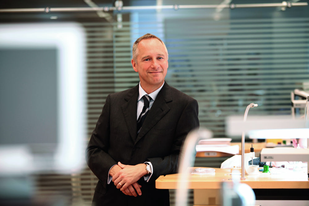 Wilhelm Schmid, chief executive officer of A Lange & Sohne