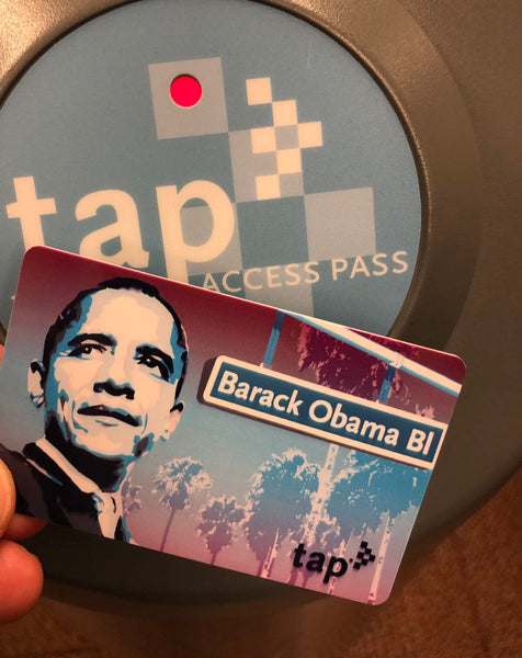 Happy to announce the #ObamaBlvd @MetroLosAngeles TAP card is on its way! #ObamaBoulevard @HerbJWesson @MayorOfLA @laurbanleague @CocoSouthLA @POTUS44 @SaulKCRW @RealDougEFresh @BJTHECHICAGOKID @LoveAlexIsley