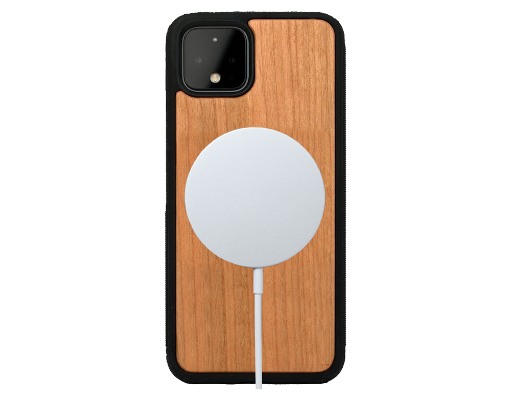 google pixel 4a wooden phone case