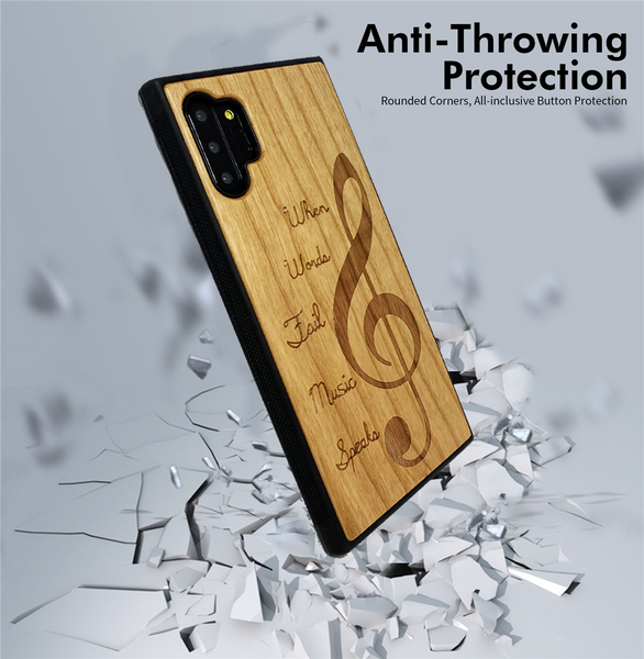 wood case drop protection