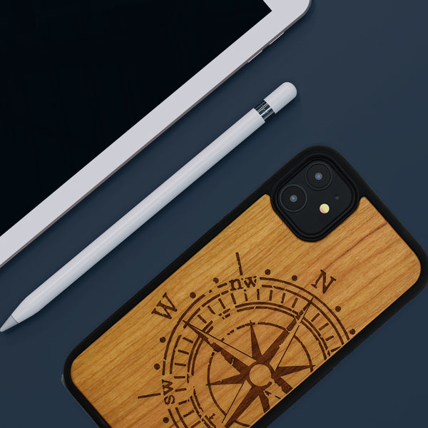 Compass iPhone 11 Pro wooden case