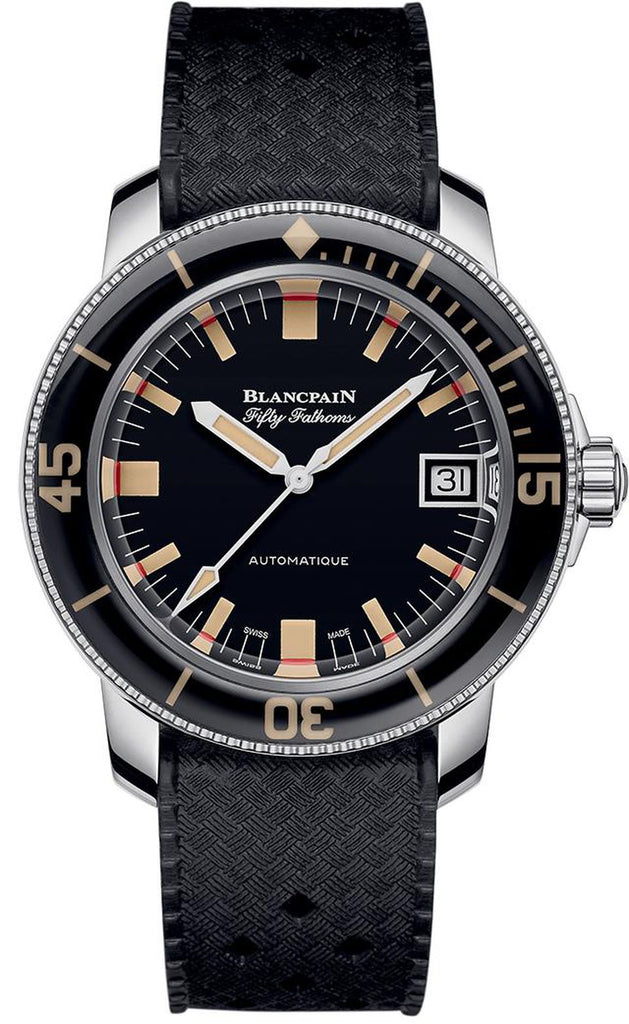 The Blancpain Limited Edition Barakuda, a 500-piece series. BLANCPAIN