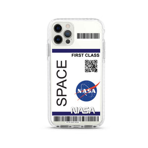 NASA barcode design Shockproof Impact Phone Case For iPhone
