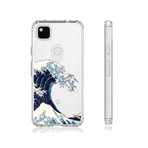 Great Wave of Kanagawa Clear Impact Case for Google Pixel