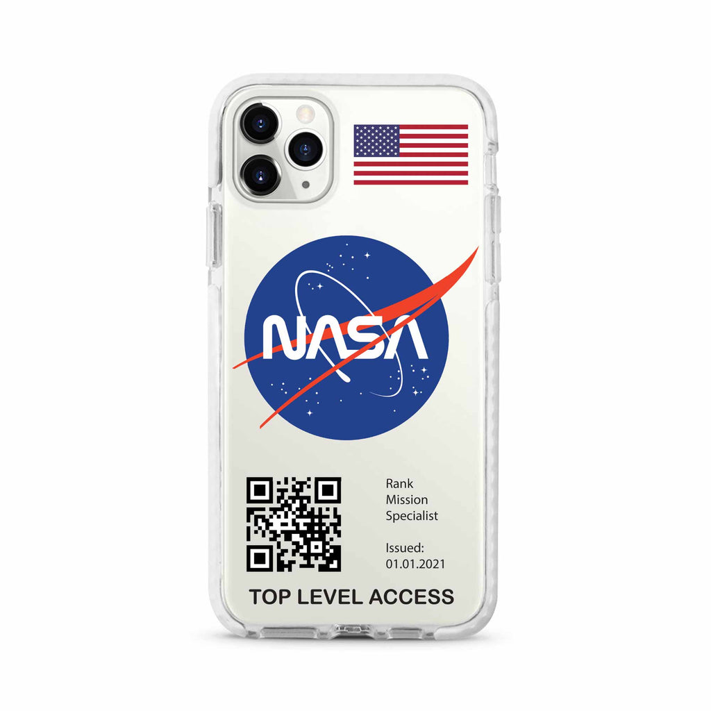 NASA design 1 Shockproof Impact Phone Case For iPhone