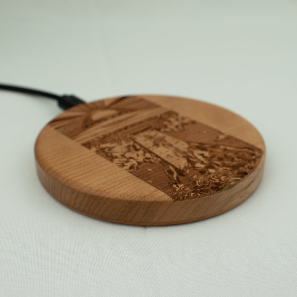 Space lover Wood iPhone charger - LIMITED77