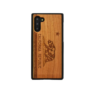 California Republic Samsung Galaxy Wood Carved Unique Case - LIMITED77