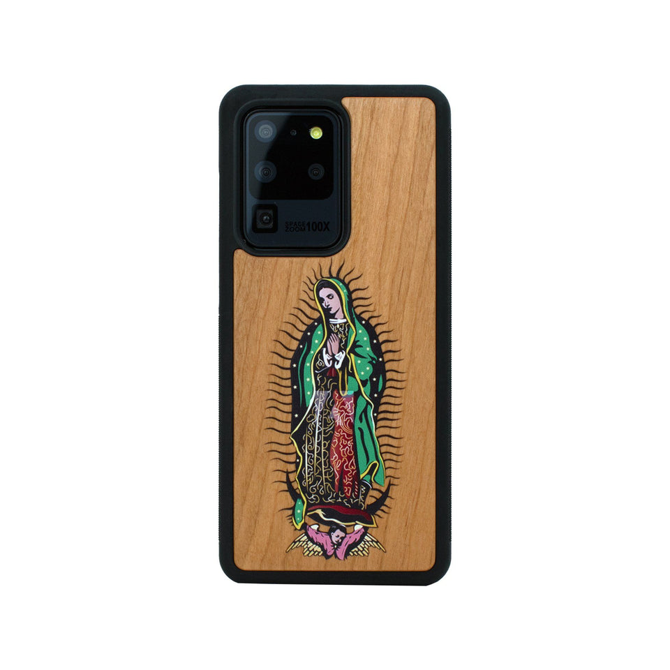 Guadalupe Unique Colored Samsung Galaxy Wood Case Wooden limited77