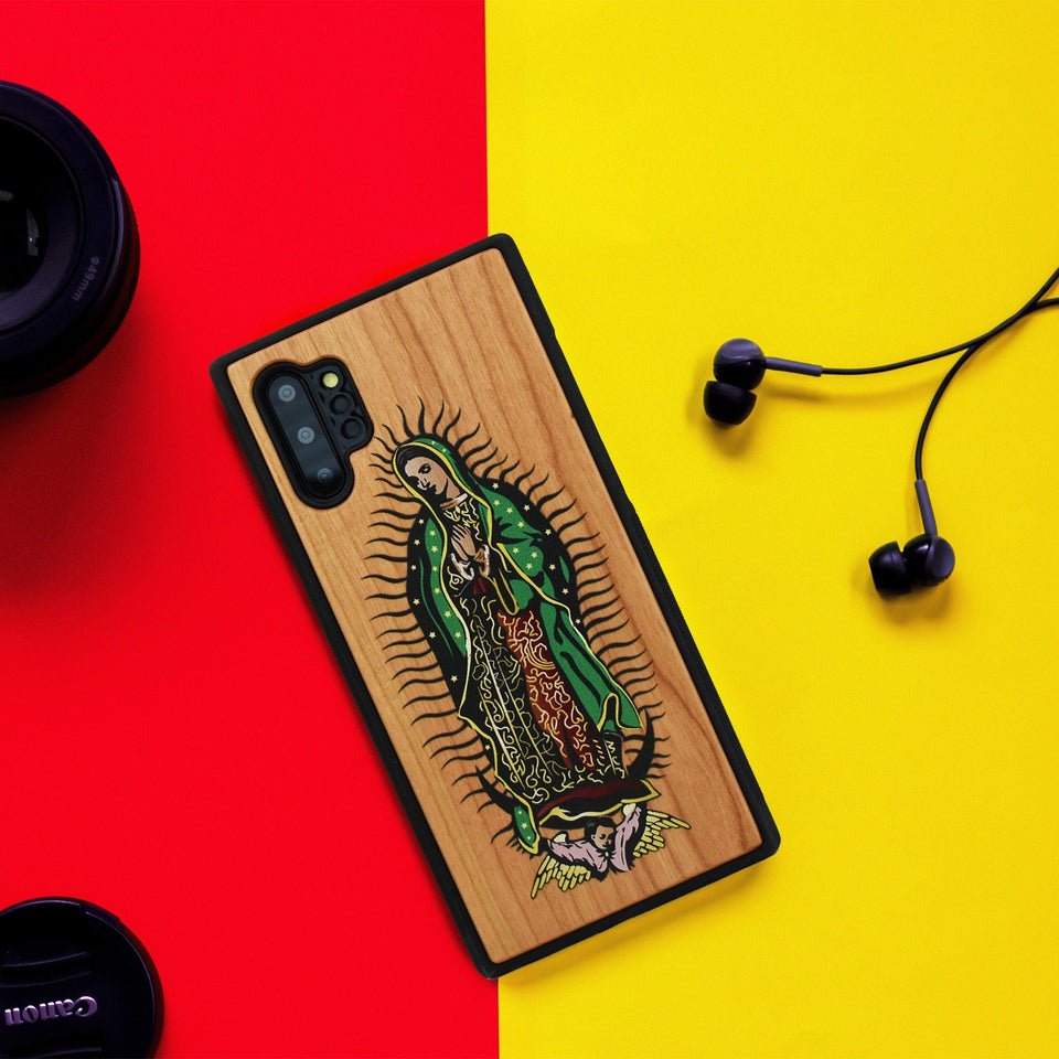 Guadalupe Unique Colored Samsung Galaxy Wood Case - LIMITED77