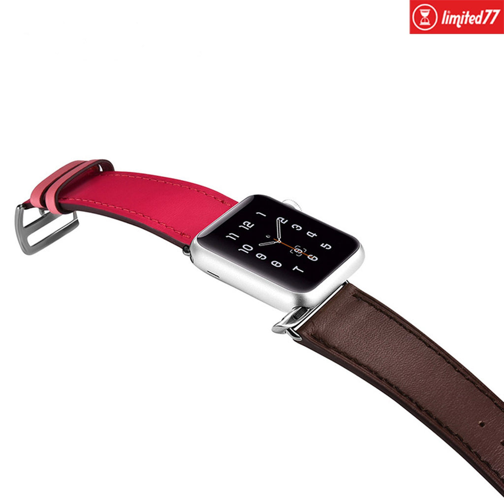 Leather Apple Watch Band Strap - LIMITED77