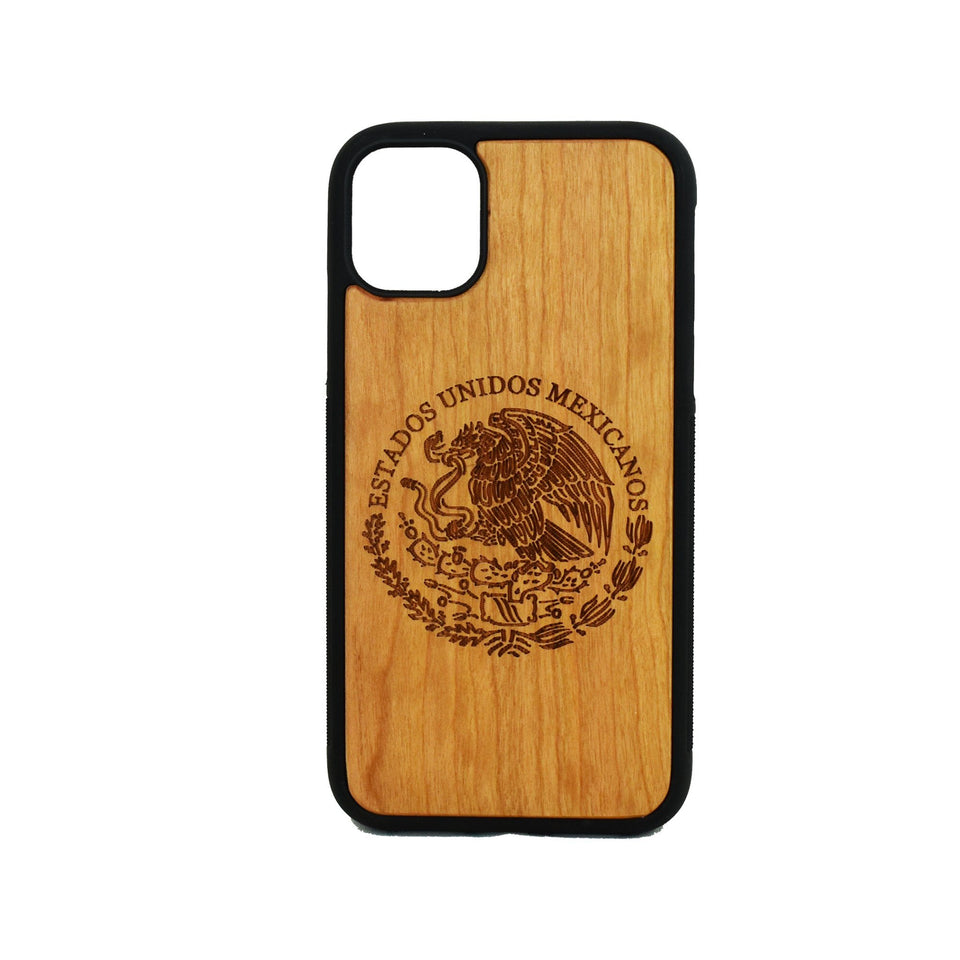 Mexican Arms Estados Unidos Wooden Unique Carved Case for Apple iPhone - LIMITED77
