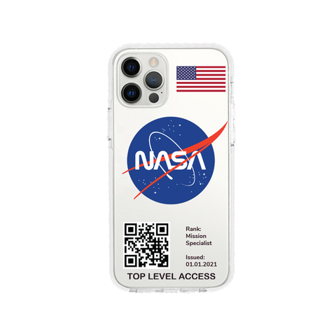 NASA design 1 Shockproof Impact Phone Case For iPhone - LIMITED77