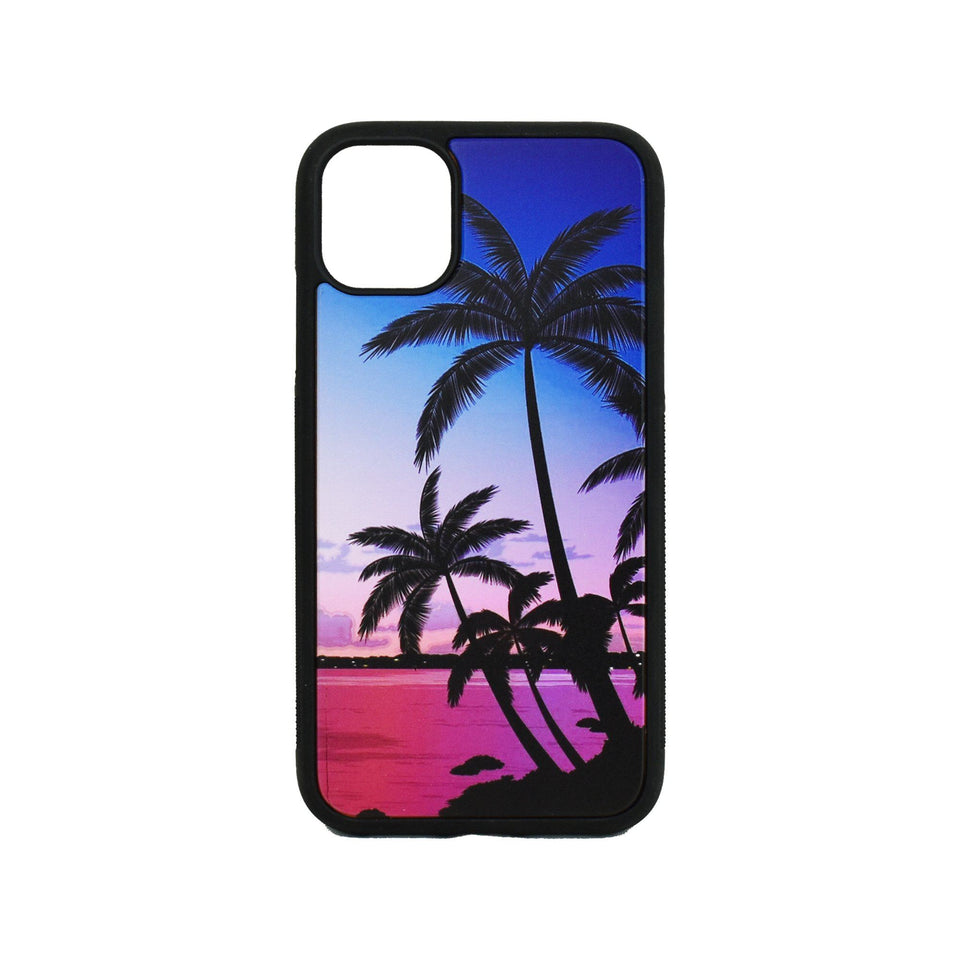 Palm Trees Wooden Unique Case for Apple iPhone - LIMITED77