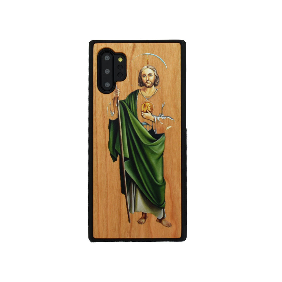 San Judas Samsung Galaxy Wood Colored Unique Case - LIMITED77