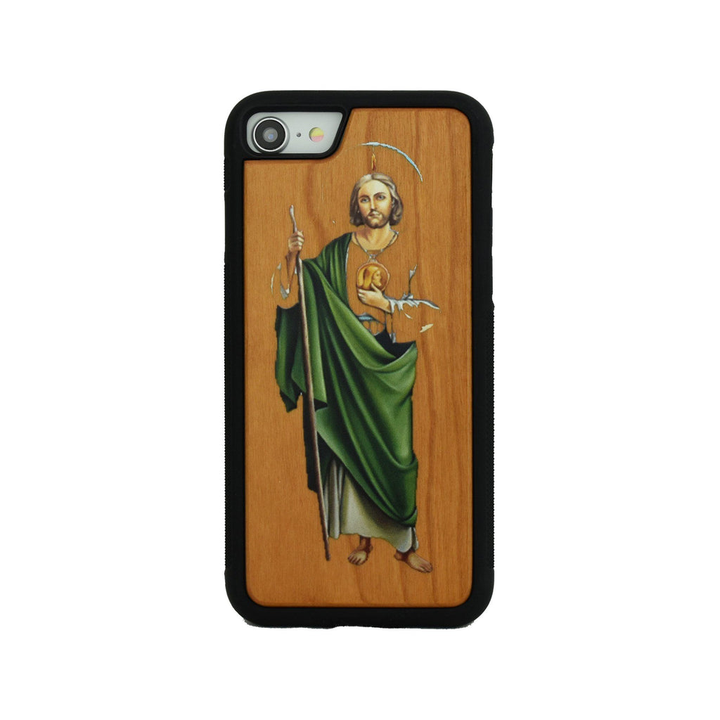 San Judas Wooden Unique Case for Apple iPhone - LIMITED77