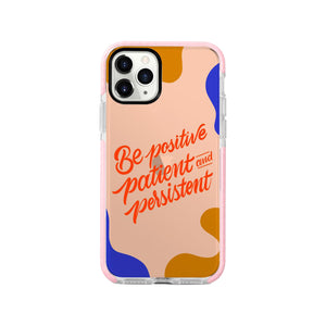 Be Positive Shockproof Impact Phone Case for iPhone - LIMITED77