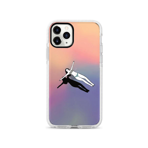 Swimmer Girl Shockproof Impact Phone Case for iPhone - LIMITED77