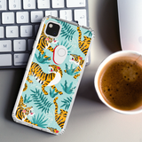 Tiger Sketch clear phone case Google Pixel 5, Pixel 4A 5G, Pixel 3 XL | valentines day gift for her gift for him| best friend gifts