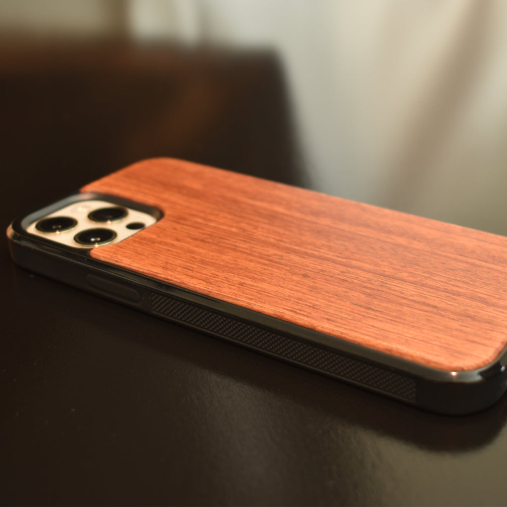 Wooden iPhone 12 Case - Bumper - LIMITED77