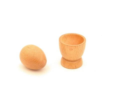 3D Object Fitting Excercise : Egg Cup with Egg - Wonder Eduquip