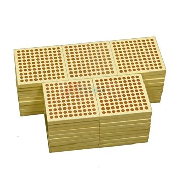 45 Wooden Hundred  Squares