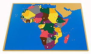 Africa Puzzle Map - Wonder Eduquip