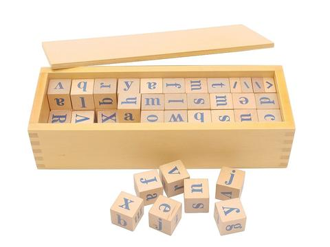Alphabet Dice with Box - Wonder Eduquip