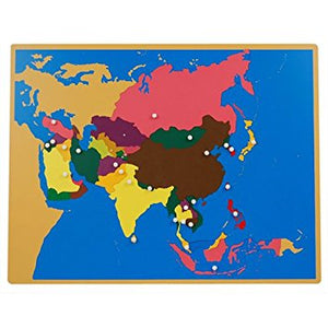 Asia Puzzle Map - Wonder Eduquip