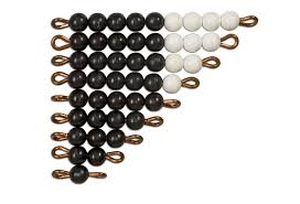 Black & White Beads - Wonder Eduquip