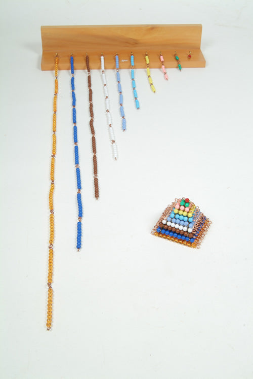 Coloured Bead Chains with Rack - Wonder Eduquip