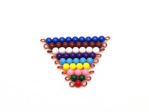 Coloured Bead Stair 1-9