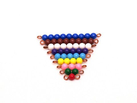 Coloured Bead Stair 1-9 - Wonder Eduquip