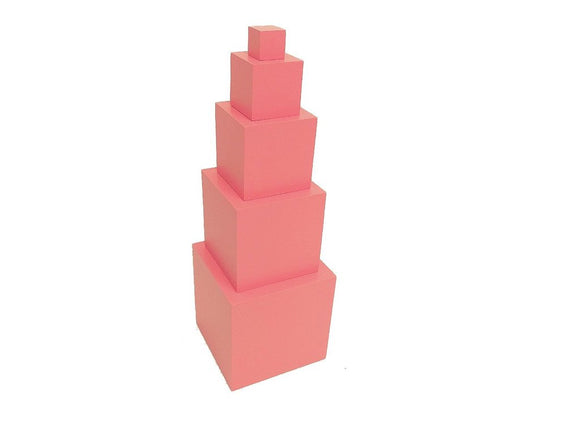Family Set - Pink Tower - Wonder Eduquip