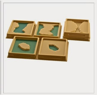 Land & Water Form Trays Set 1 - Wonder Eduquip