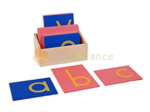 Sandpaper Letters Lower Case - Wonder Eduquip