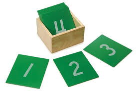 Sandpaper Numbers with Box - Wonder Eduquip