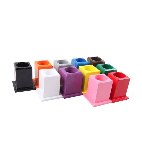 Set of 11 Coloured Pencil Holders - Wonder Eduquip