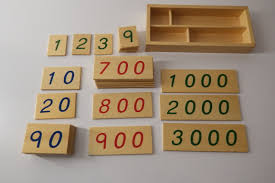 Small Wooden Cards (1 - 3000)