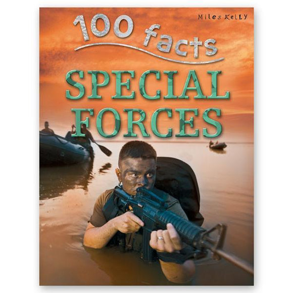 100 Facts : Special Forces - Wonder Eduquip